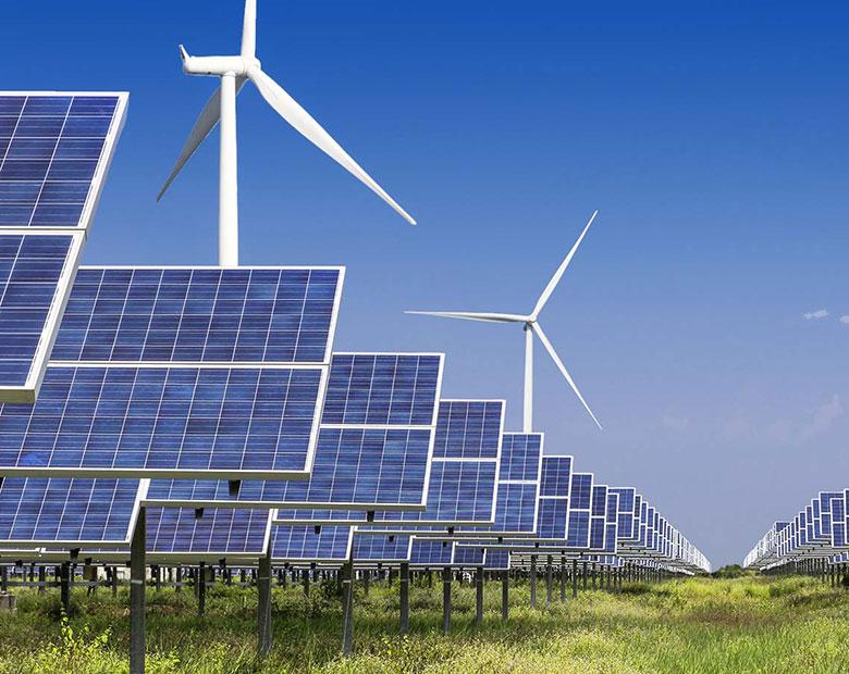 Unsere Kompetenzen sind Planung und Errichtung von Photovoltaik- und Windenergieanlagen.
